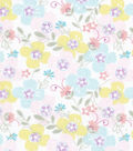Snuggle Flannel Fabric -Sweet Flowers