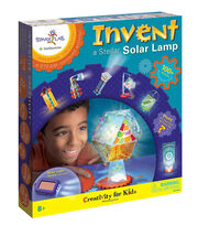 Creativity for Kids Spark!Lab Invent a Stellar Solar Lamp Kit, , hi-res