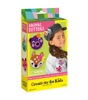 Creativity for Kids Animal Buttons, , hi-res