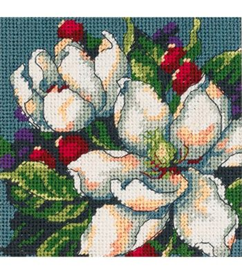 Dimensions Mini Needlepoint Kit Magnolia