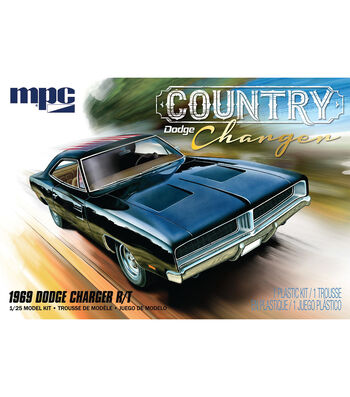 MPC 1969 Country Dodge Charger 1:25 Scale Model Car Kit