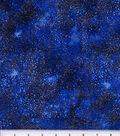Keepsake Calico Cotton Fabric 44\u0022-Texture Metallic Blue