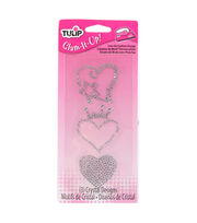 Tulip Glam-It-Up!Iron-On Fashion Design Multi-Pack Heart, , hi-res