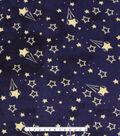 No Sew Fleece Throw Kit 48\u0027\u0027x60\u0027\u0027-Space Kitties