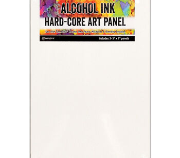 Tim Holtz Alcohol Ink Hard Core Art Panel 5''X7'' 3/Pkg