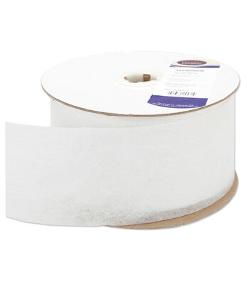 """Wrights 3""""X50yd Non-Woven Drapery Tape"""
