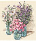 Dimensions Counted Cross Stitch Kit Wildflower Trio