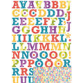 Sticko - Patterned Rockwell Large Alphabet Stickers