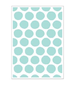 Park Lane 5''x7'' Embossing Folder-Brush Dots