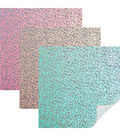 Cricut 3 pk 12\u0027\u0027x24\u0027\u0027 Holographic Sparkle Vinyl Samplers-Unicorn