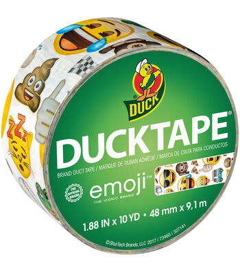Duck Duct Tape 1.88''x10 yds-Emoji