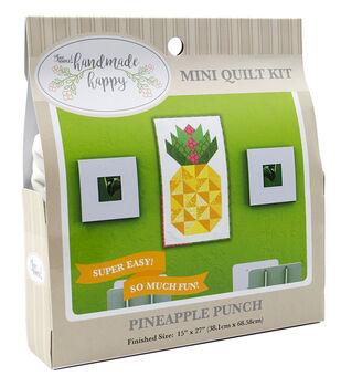 Sew Simple Handmade Happy Mini Quilt Kit-Pineapple