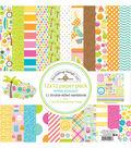 Doodlebug Design Sweet Summer 12 pk 12\u0027\u0027x12\u0027\u0027 Double-sided Paper Pack