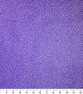 Premium Cotton Fabric-Maeve Dark Purple Dots