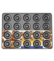 Wilton 20-cavity Perfect Results Non-Stick Doughnut Pan, , hi-res
