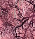 Modern Cotton Fabric 43\u0022-Sunset Forest