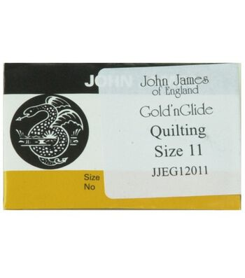 Easy Glide Quilting Needles-Size 11