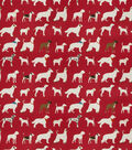 Eaton Square Lightweight Decor Fabric 54\u0022-Downpour/Red