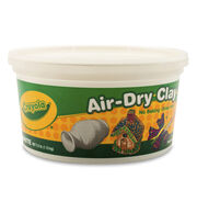 Crayola Air Dry Clay-White, , hi-res