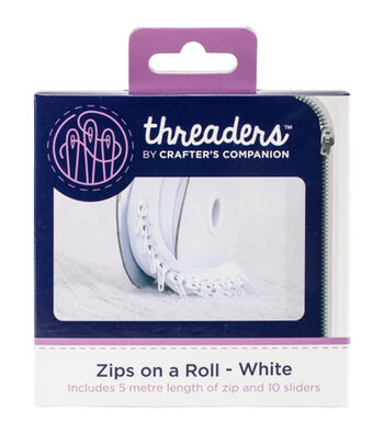 Crafter's Companion Threaders Zips on a Roll 5m