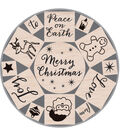 Hero Arts Mounted Rubber Stamp Set Merry Christmas