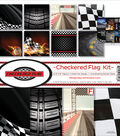 Reminisce Collection Kit 12\u0022X12\u0022-Checkered Flag