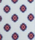 Knit Modal Fabric 58\u0027\u0027-Coral Medallion