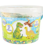 Perler Small Fused Bead Bucket Kit-Dinosaurs, , hi-res