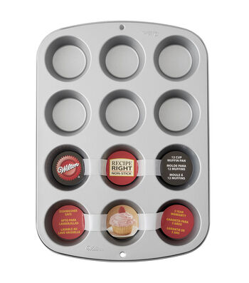 Wilton Recipe Right 12 Cup Reg Muffin Pan