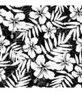 Crafty Individuals Rubber Stamp-Hibiscus Repeating Background