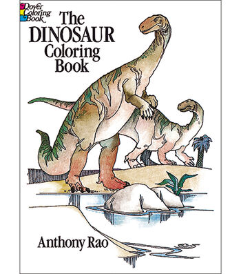 Dover Publications-Dinosaur Coloring Book