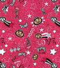 Ohio State University Buckeyes Jersey Knit Fabric 58\u0022-Spirit