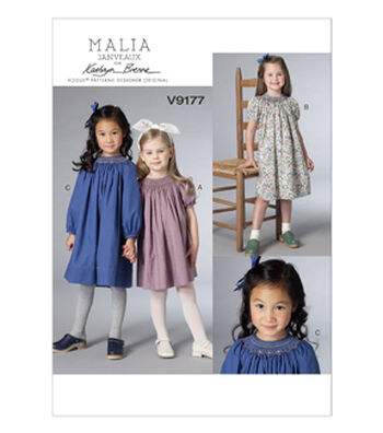 Vogue Patterns Child Dress-V9177