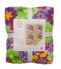 No Sew Fleece Throw 48\u0022-Lilypad Frog On Purple