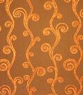 Home Decor 8\u0022x8\u0022 Fabric Swatch-Upholstery Fabric Barrow M8502-5298 Lava