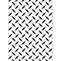 Embossing Folder 4.25\u0022X5.75\u0022-Diamond Plate