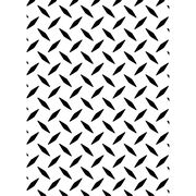 "Embossing Folder 4.25""X5.75""-Diamond Plate, , hi-res"