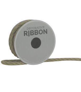 Decorative Ribbon 6mm Cord Ribbon-Natural