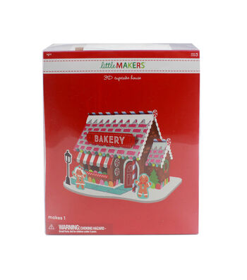 Little Makers 3D Cupcake House Kit