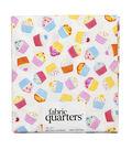 Fabric Quarters Cotton Fabric 18\u0022-Cupcake