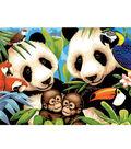 15-1/4\u0027\u0027x11-1/4\u0027\u0027 Junior Paint By Number Kit-Endangered Animals