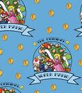 Nintendo Super Mario Brothers Fleece Fabric 59\u0022-The Original