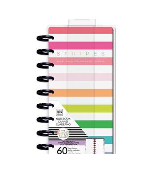 Happy Planner Half Sheet Fill Paper 60/Pkg-Stripes Are