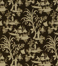 Home Decor 8\u0022x8\u0022 Fabric Swatch-Print Fabric Robert Allen Crystal Lake Amber