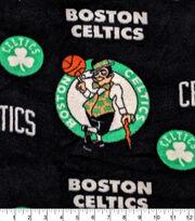 Boston Celtics Fleece Fabric-Allover, , hi-res