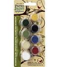 DecoArt Patio Paint Decorator Color 8 Pot Paint Pot 4x2