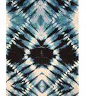Knit Fabric 57\u0027\u0027-Blue Diamond Tie Dye