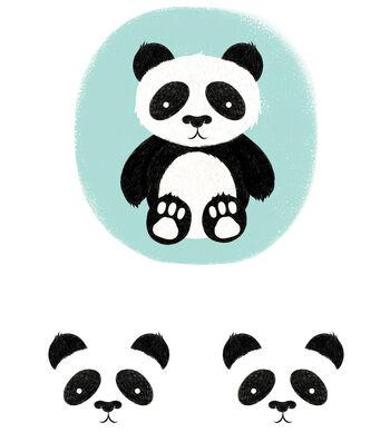 Cricut Large Panda Iron-On Design