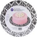 Wilton Cake Boards-12\u0022 Round Damask 3/Pkg