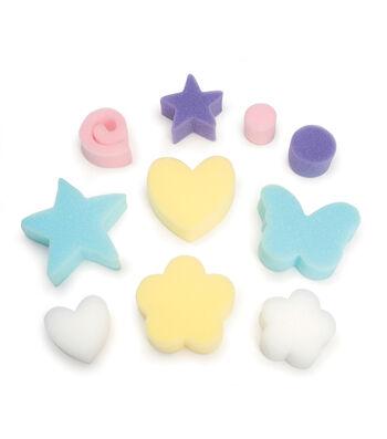 Busy Kids Learning Sponge Packs in Shapes
